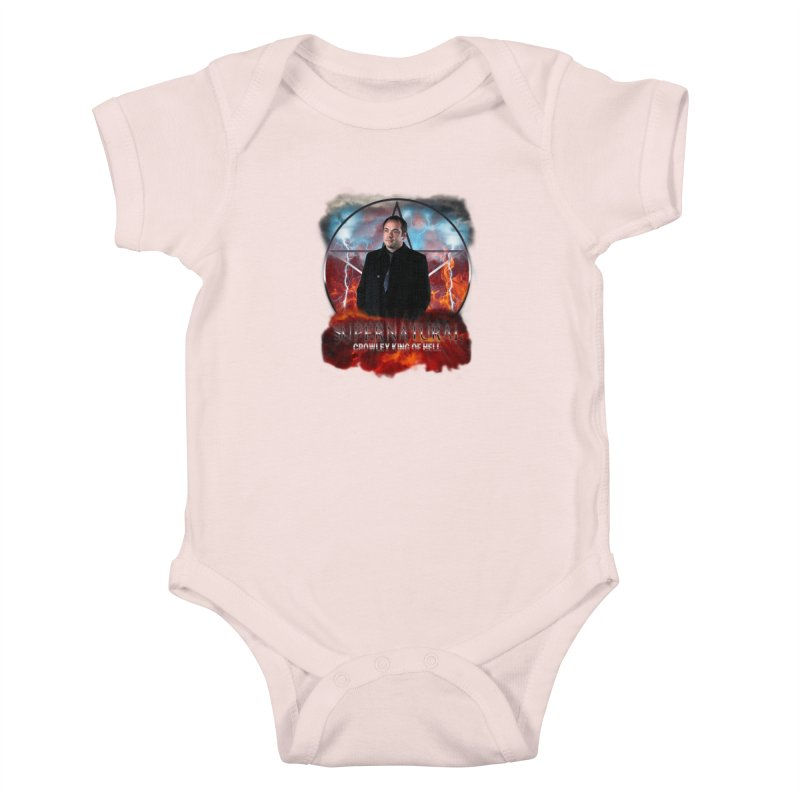 Supernatural Crowley King of Hell Kids Baby Bodysuit by ratherkool's Artist Shop