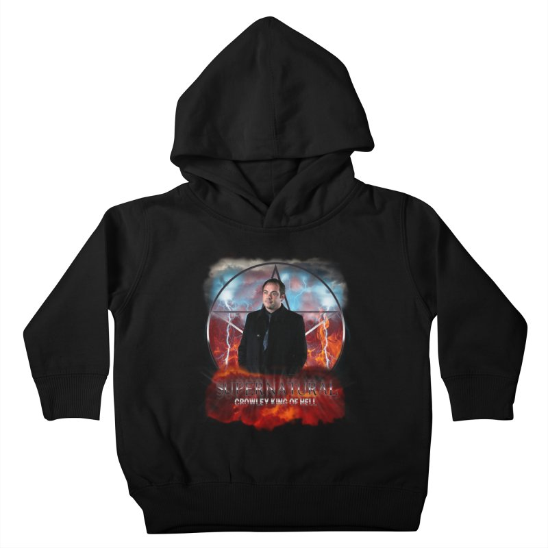 Supernatural Crowley King of Hell Kids Toddler Pullover Hoody by ratherkool's Artist Shop