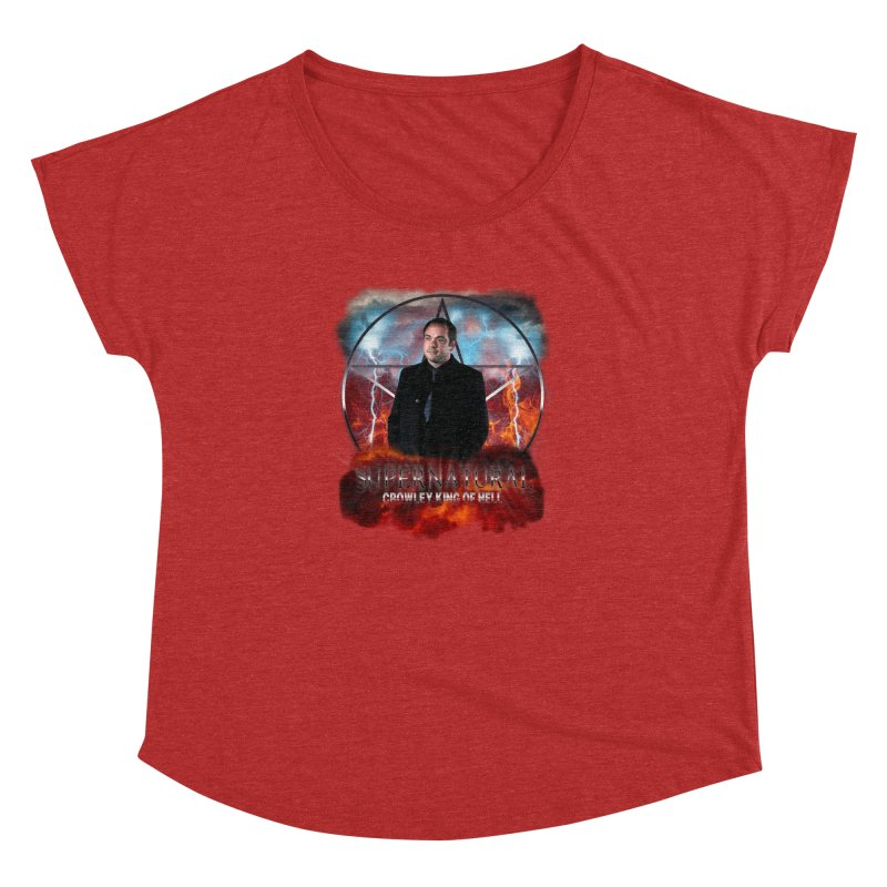 Supernatural Crowley King of Hell Women's Dolman by ratherkool's Artist Shop