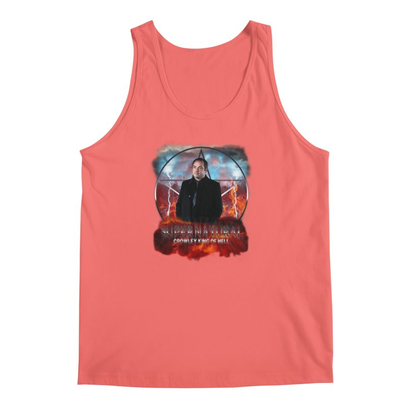 Supernatural Crowley King of Hell Men's Tank by ratherkool's Artist Shop