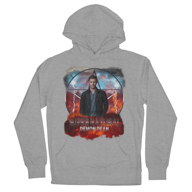 Supernatural Demon Dean Threadless Women's Pullover Hoody by ratherkool's Artist Shop