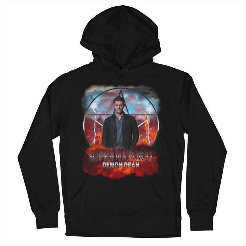Supernatural Demon Dean Threadless Women's Pullover Hoody by ratherkool's Artist Shop