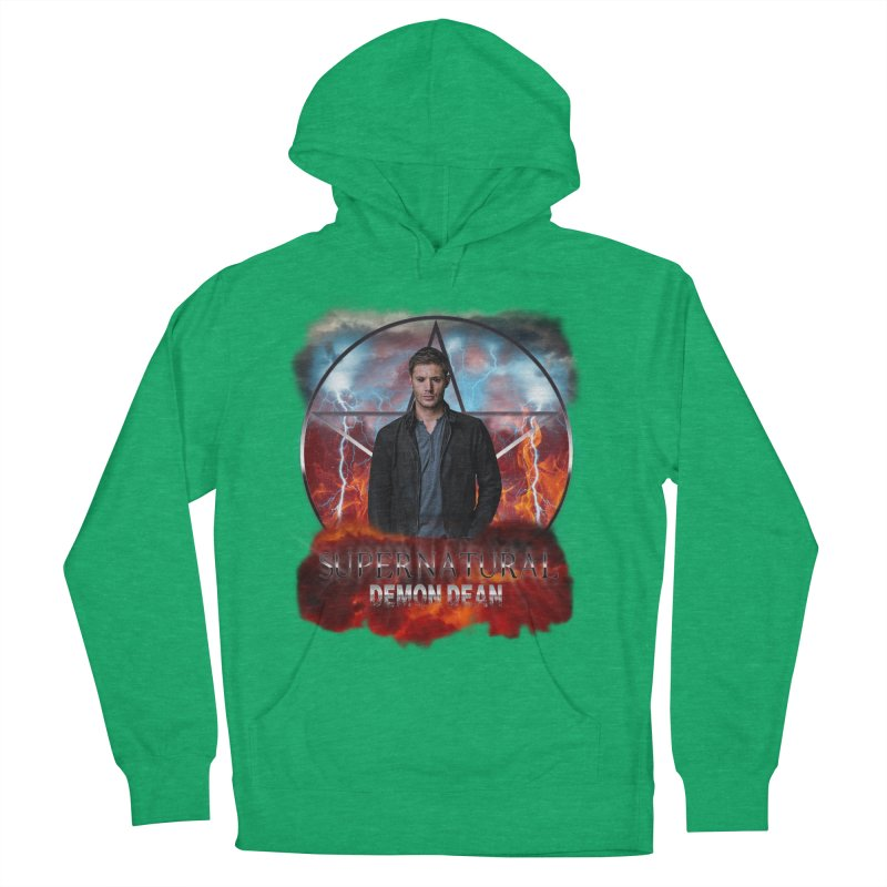 Supernatural Demon Dean Threadless Men's Pullover Hoody by ratherkool's Artist Shop
