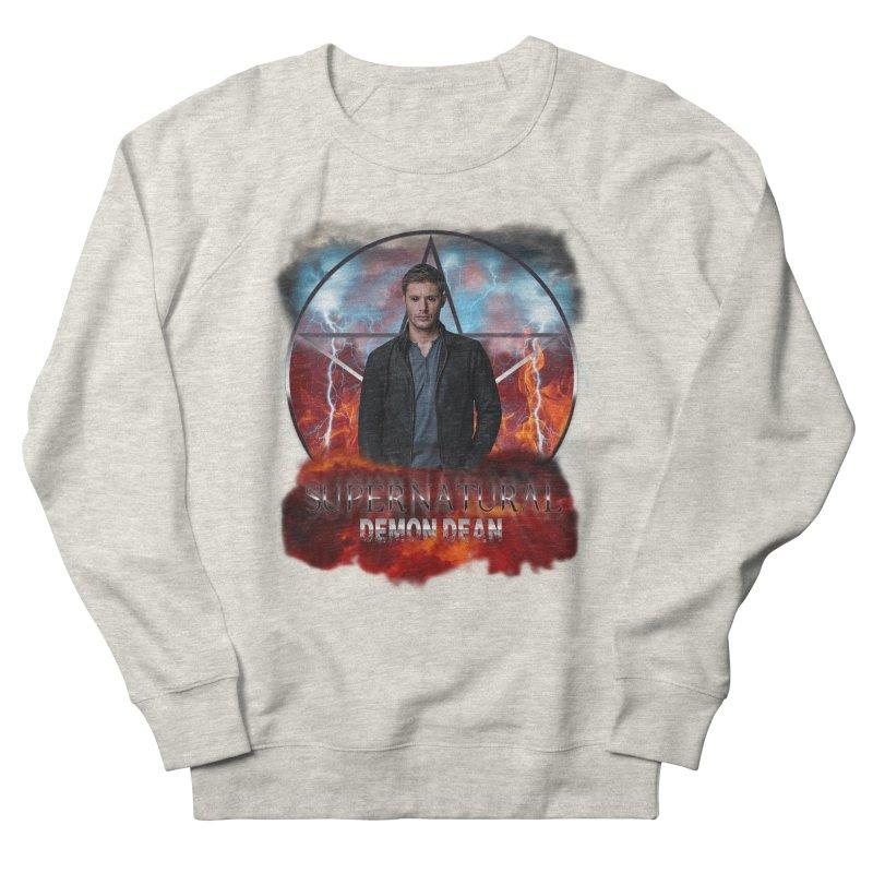 Supernatural Demon Dean Threadless Women's Sweatshirt by ratherkool's Artist Shop