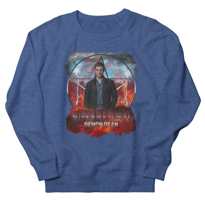 Supernatural Demon Dean Threadless Men's Sweatshirt by ratherkool's Artist Shop