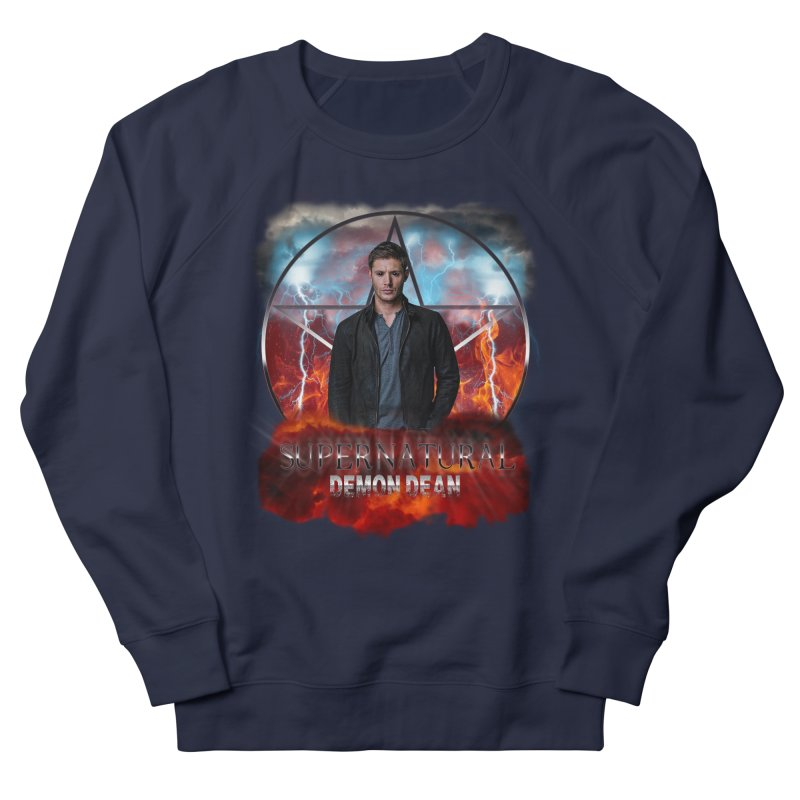 Supernatural Demon Dean Threadless Men's Sweatshirt by ratherkool's Artist Shop