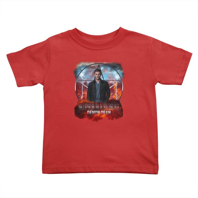 Supernatural Demon Dean Threadless Kids Toddler T-Shirt by ratherkool's Artist Shop