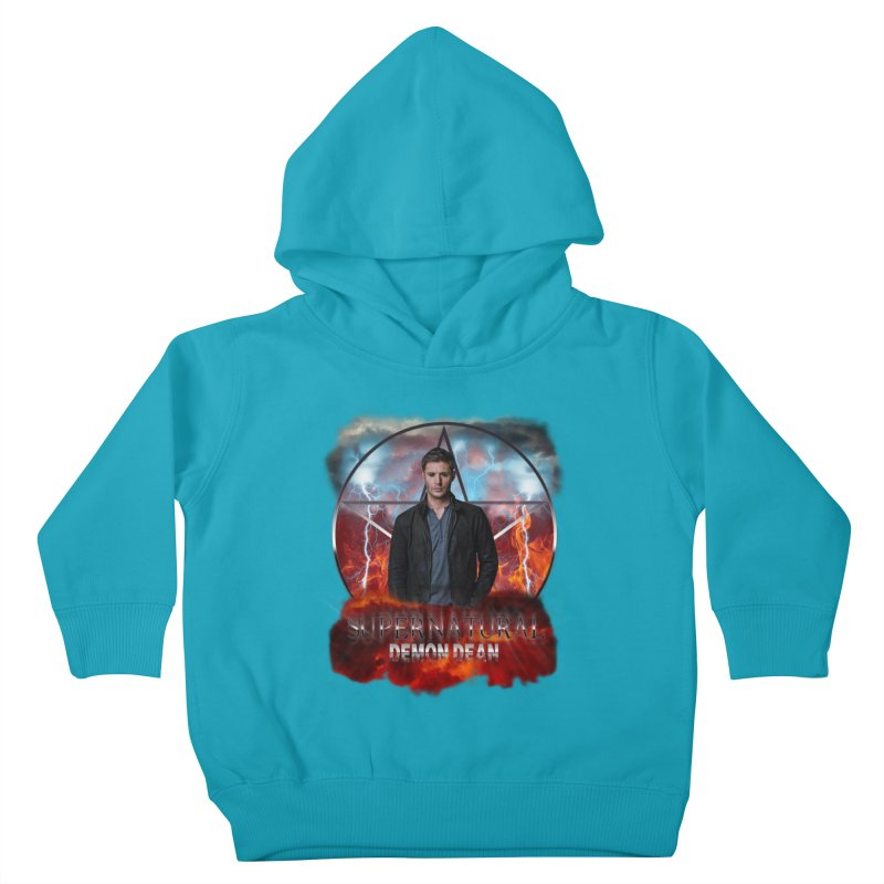 Supernatural Demon Dean Threadless Kids Toddler Pullover Hoody by ratherkool's Artist Shop