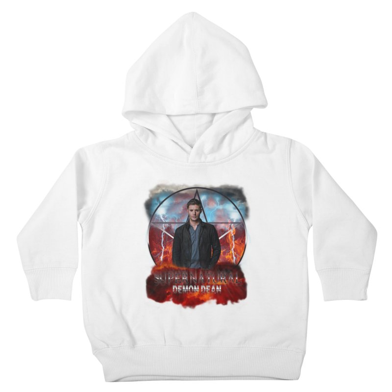 Supernatural Demon Dean Threadless Kids Toddler Pullover Hoody by ratherkool's Artist Shop