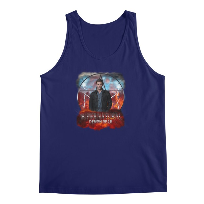 Supernatural Demon Dean Threadless Men's Tank by ratherkool's Artist Shop