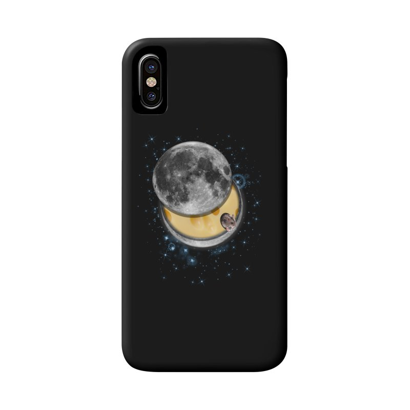 Swiss Moon Accessories Phone Case by ratherkool's Artist Shop