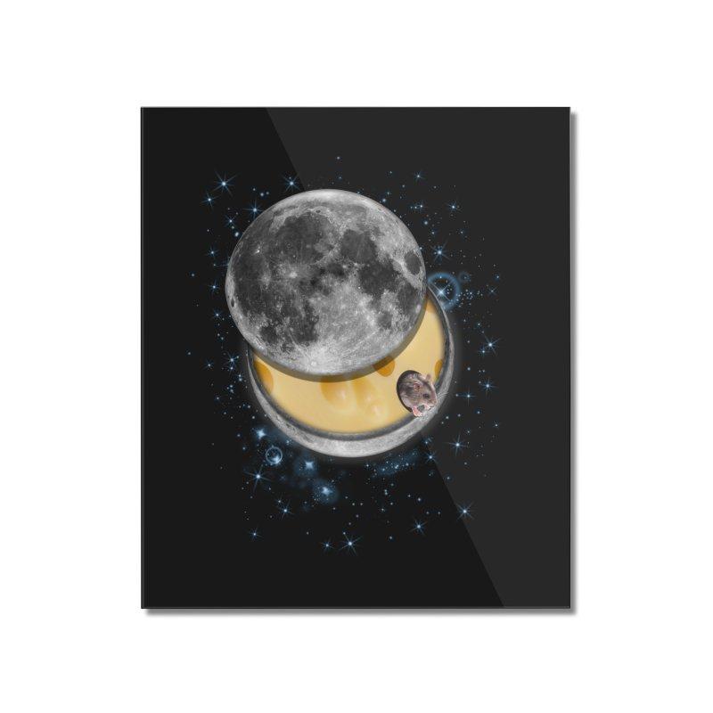 Swiss Moon Home Mounted Acrylic Print by ratherkool's Artist Shop