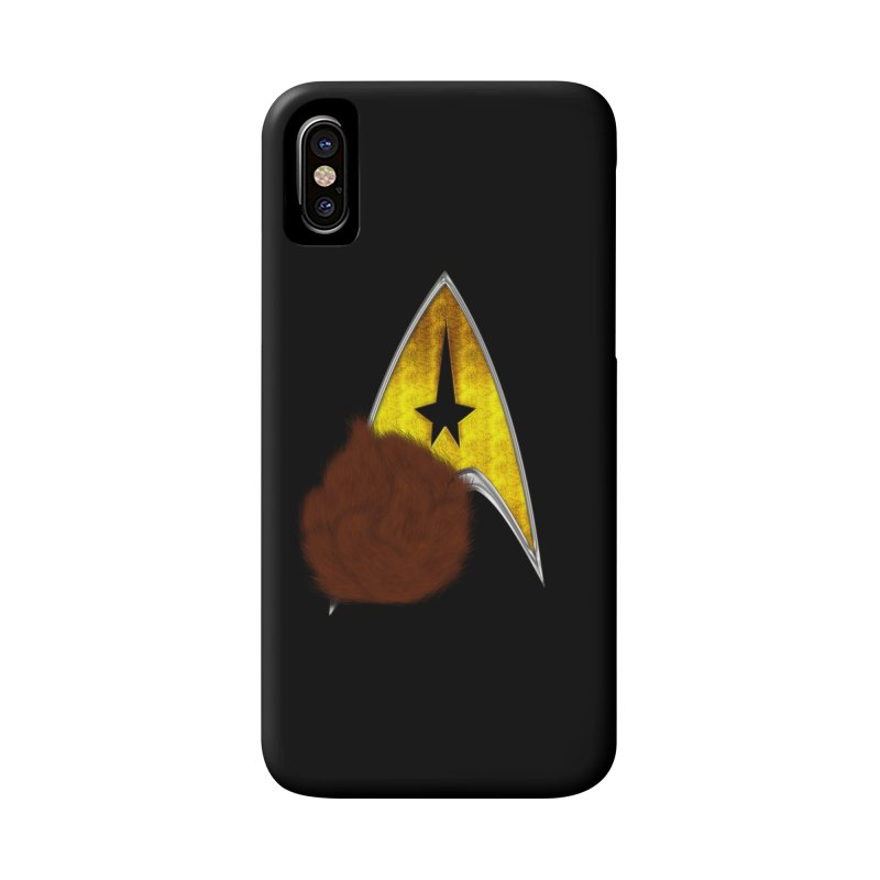StarTrek Command Signia Shaggy Tribble Accessories Phone Case by ratherkool's Artist Shop