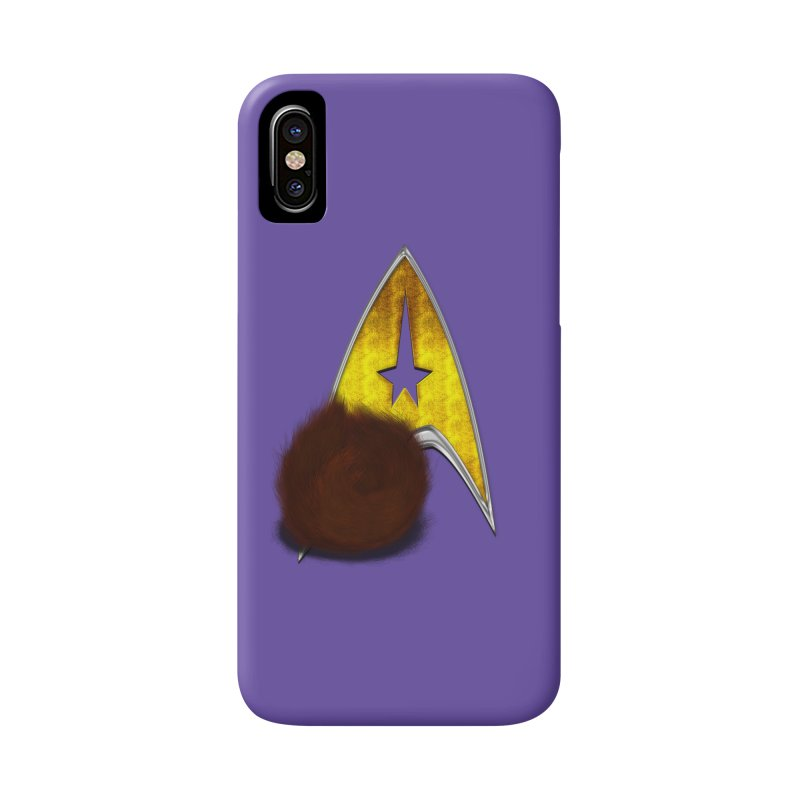 StarTrek Command Signia Wiggi Tribble L Accessories Phone Case by ratherkool's Artist Shop