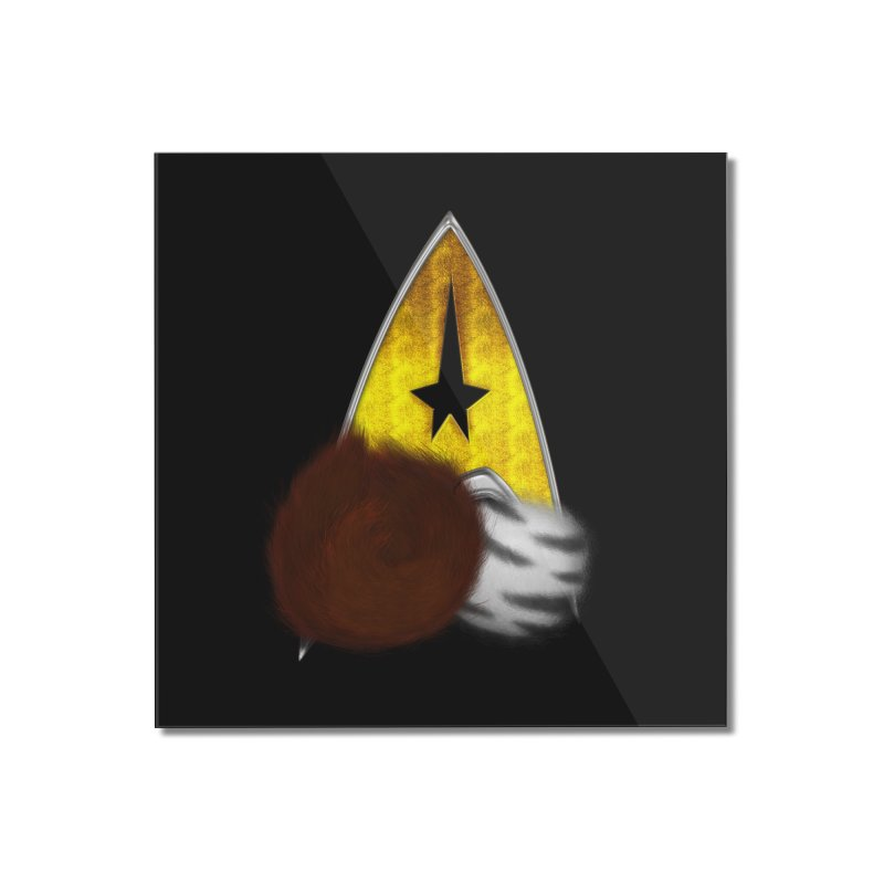 StarTrek Command Signia Tribbles Home Mounted Acrylic Print by ratherkool's Artist Shop