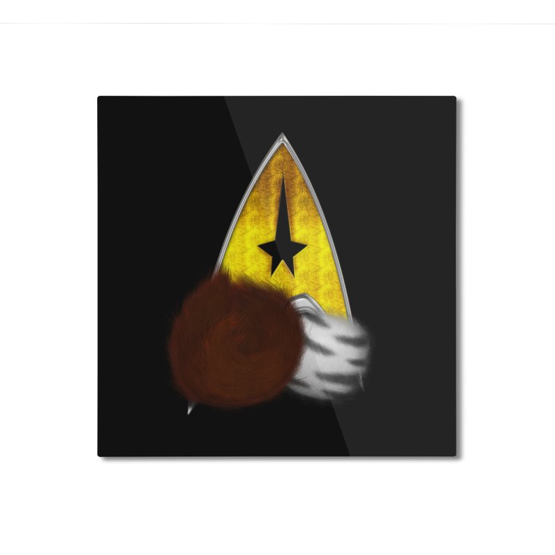 StarTrek Command Signia Tribbles Home Mounted Aluminum Print by ratherkool's Artist Shop