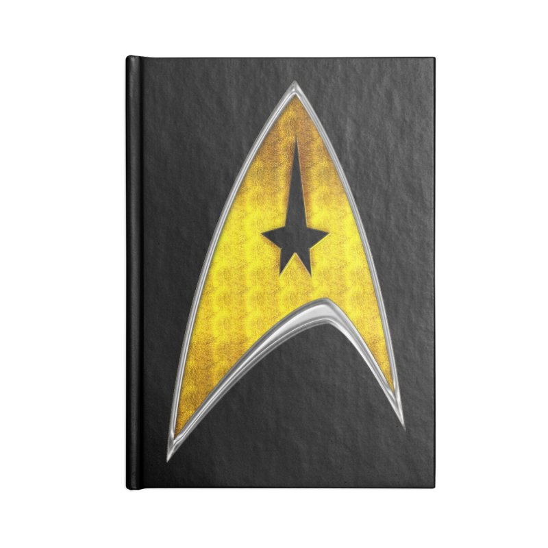 StarTrek Command Signia Chest 2018 Accessories Notebook by ratherkool's Artist Shop