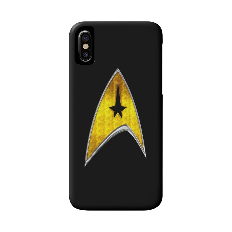 StarTrek Command Signia Chest 2018 Accessories Phone Case by ratherkool's Artist Shop