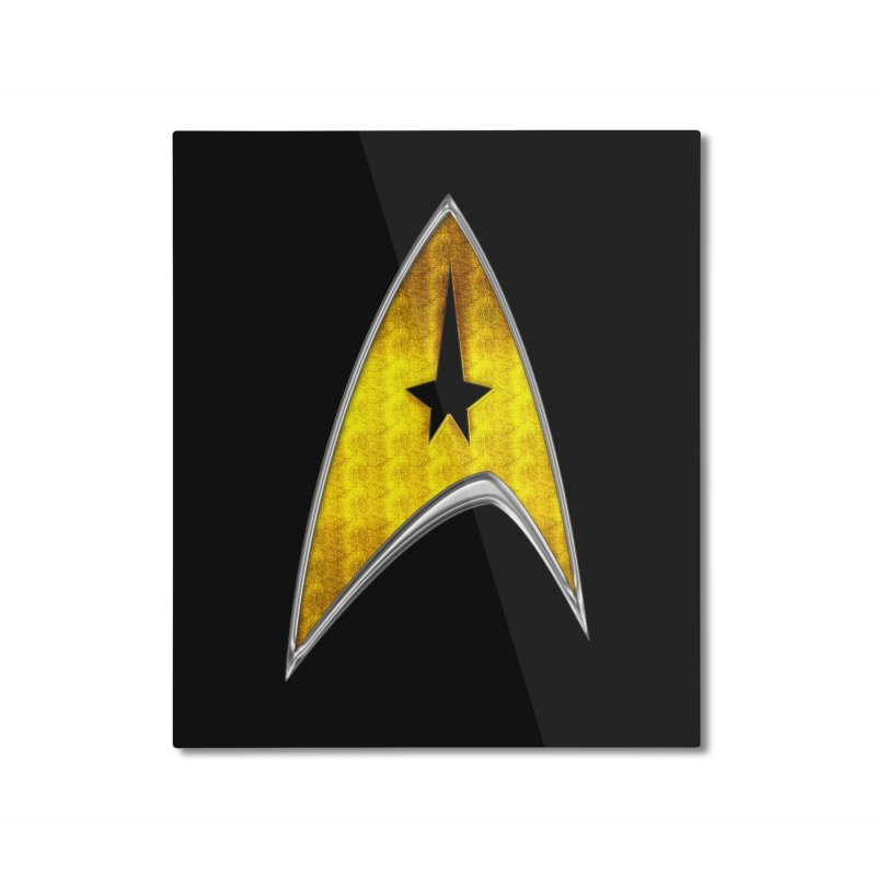 StarTrek Command Signia Chest 2018 Home Mounted Aluminum Print by ratherkool's Artist Shop