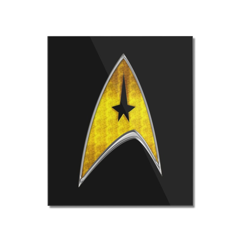 StarTrek Command Signia Chest 2018 Home Mounted Acrylic Print by ratherkool's Artist Shop