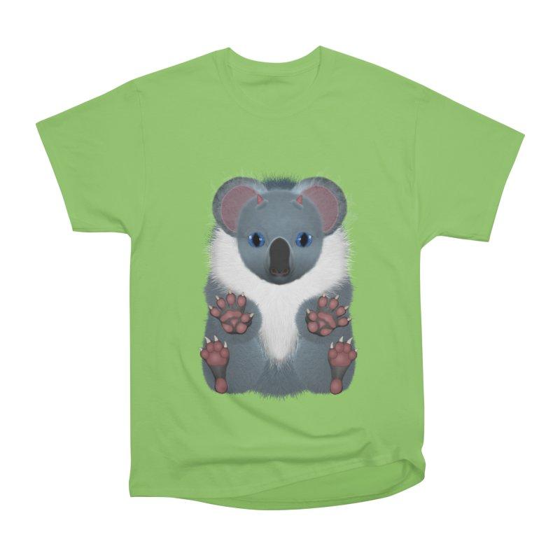 Fu Koala Men's Heavyweight T-Shirt by ratherkool's Artist Shop