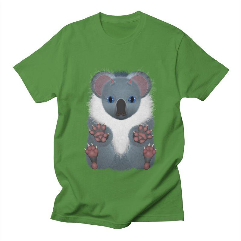 Fu Koala Women's Regular Unisex T-Shirt by ratherkool's Artist Shop