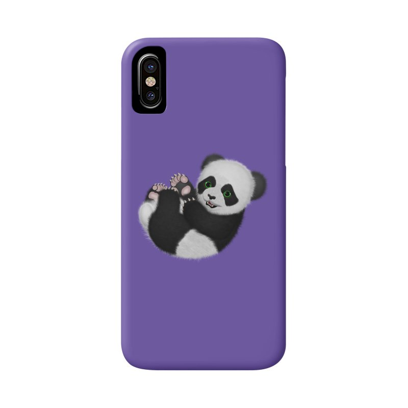 Baby Panda Bear Accessories Phone Case by ratherkool's Artist Shop