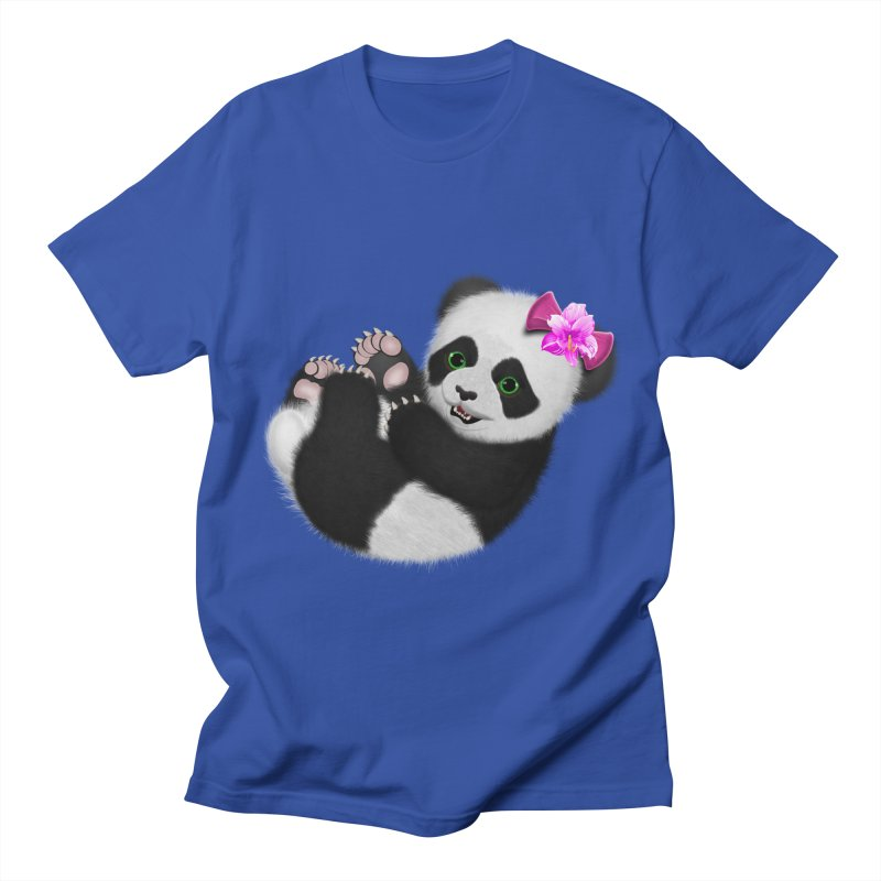 Baby Girl Panda Bear Women's Regular Unisex T-Shirt by ratherkool's Artist Shop