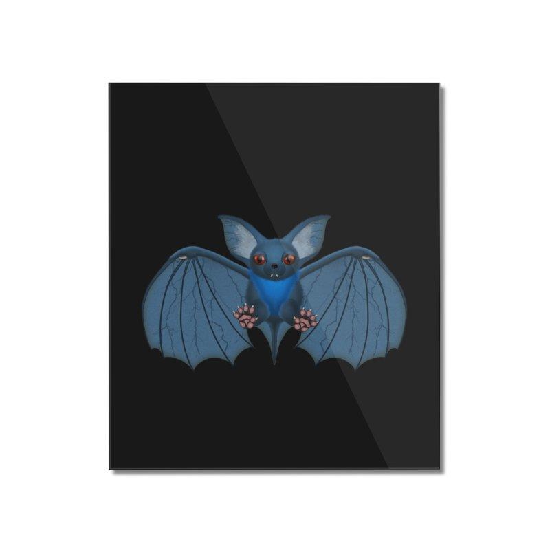 Fu Bat Home Mounted Acrylic Print by ratherkool's Artist Shop