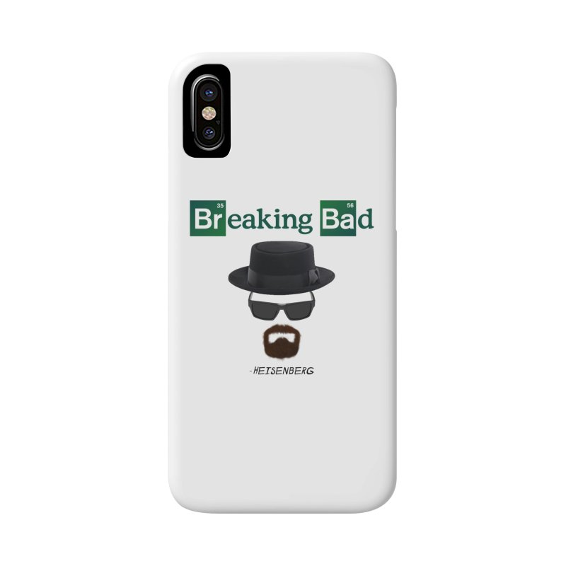 Breaking Bad Heisenberg Accessories Phone Case by ratherkool's Artist Shop