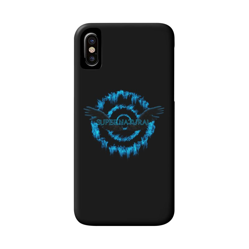 Supernatural Reign of Fire Accessories Phone Case by ratherkool's Artist Shop