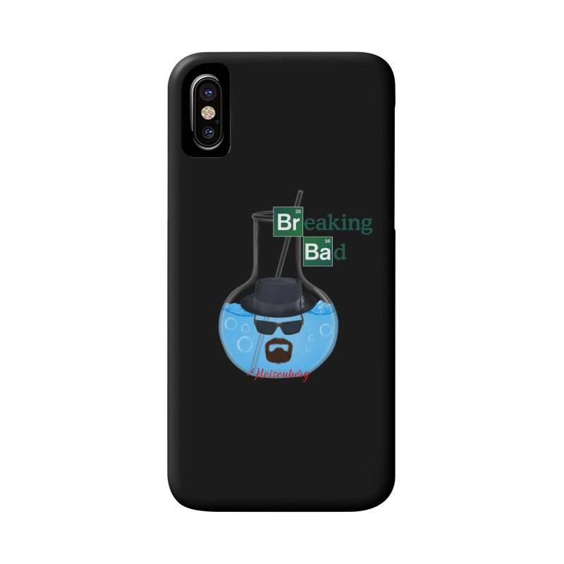 Breaking Bad Heisenberg Blue Meth Science Flask 2 Accessories Phone Case by ratherkool's Artist Shop