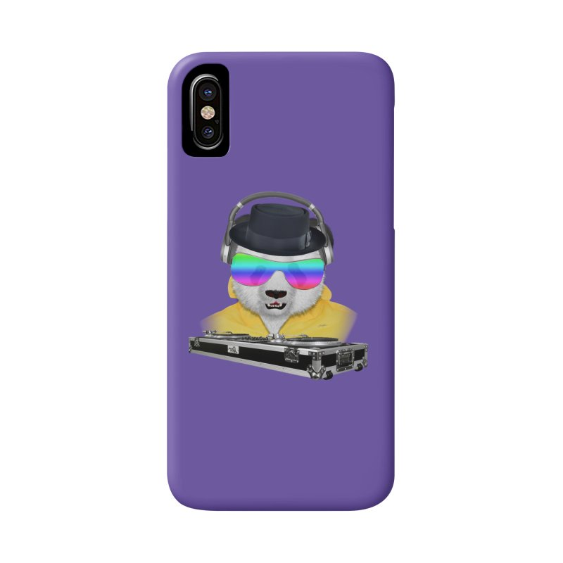 DJ Panda Bear Heisenberg Accessories Phone Case by ratherkool's Artist Shop