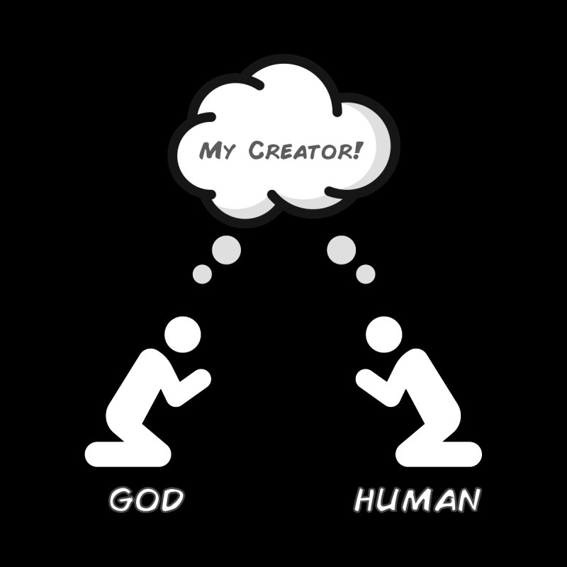 Who created whom? by Rational Tees