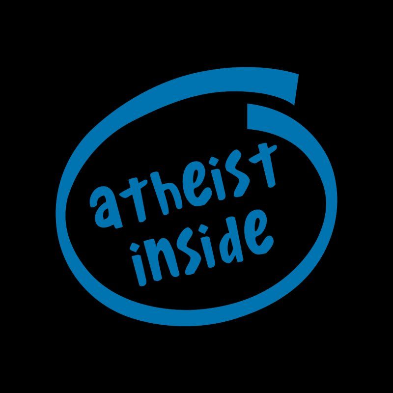 Atheist inside by Rational Tees