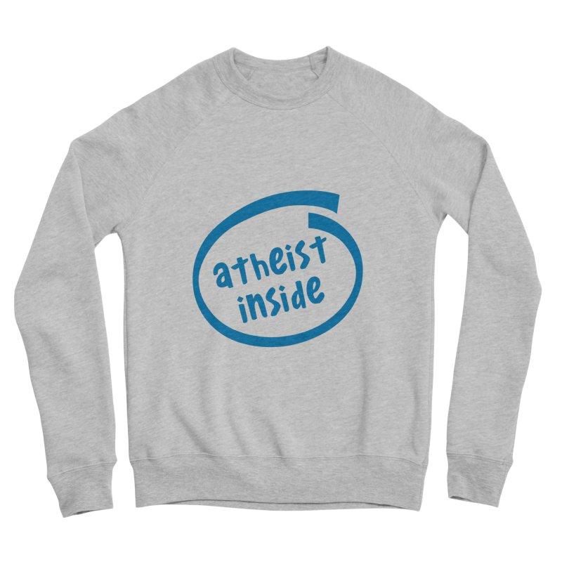 Atheist inside Women's Sponge Fleece Sweatshirt by Rational Tees
