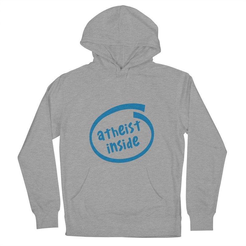 Atheist inside Men's French Terry Pullover Hoody by Rational Tees