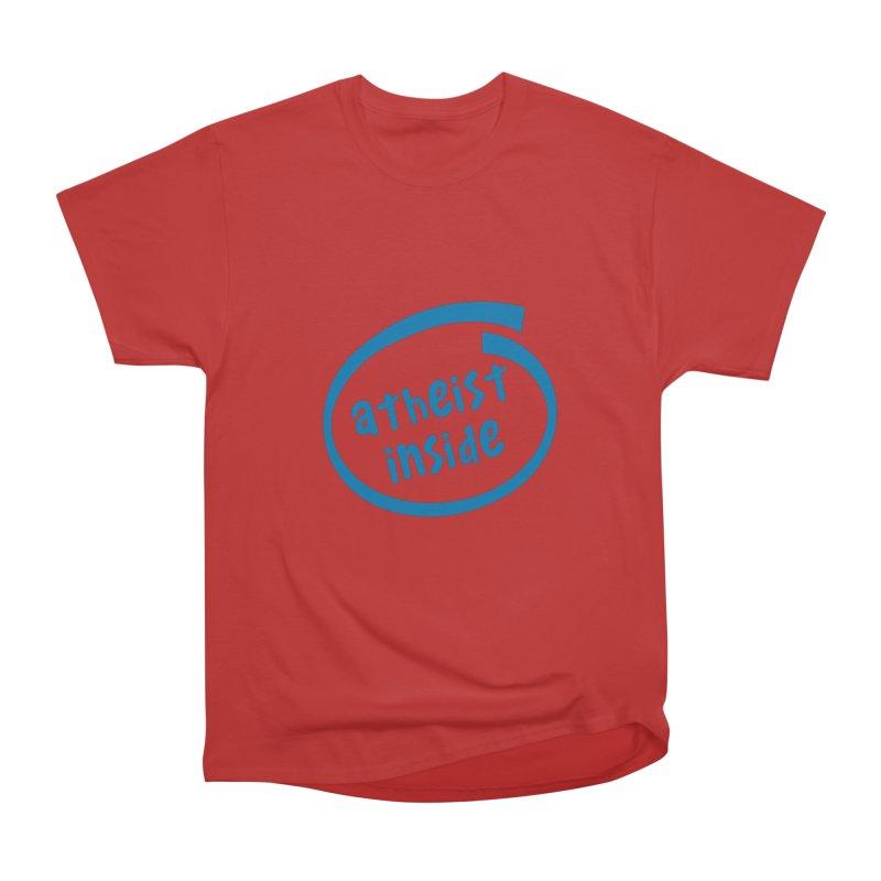 Atheist inside Men's Heavyweight T-Shirt by Rational Tees