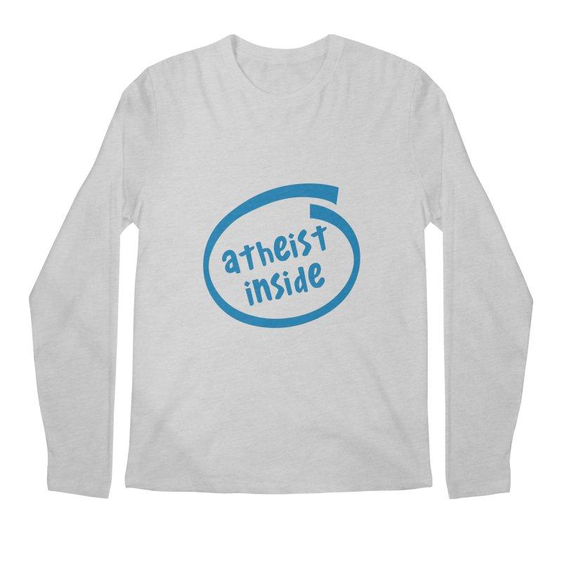Atheist inside Men's Regular Longsleeve T-Shirt by Rational Tees