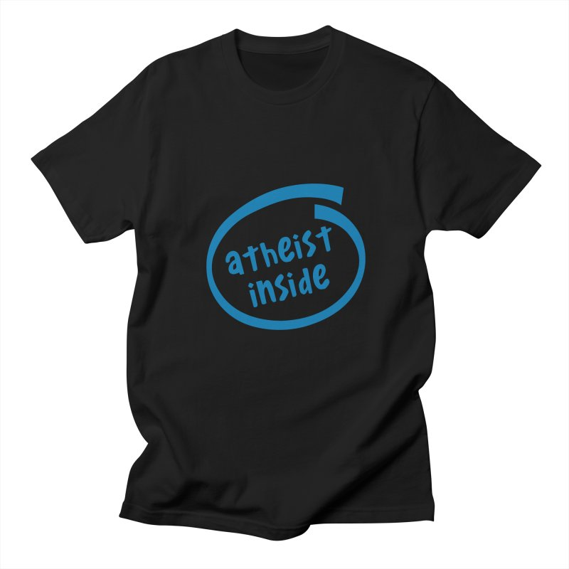Atheist inside Men's T-Shirt by Rational Tees
