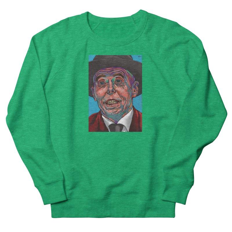 Schizo Pop Face Women's French Terry Sweatshirt by schizo pop