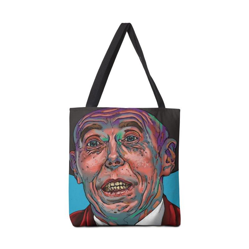 Schizo Pop Face Accessories Bag by schizo pop