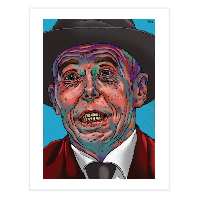 Schizo Pop Face Home Fine Art Print by schizo pop