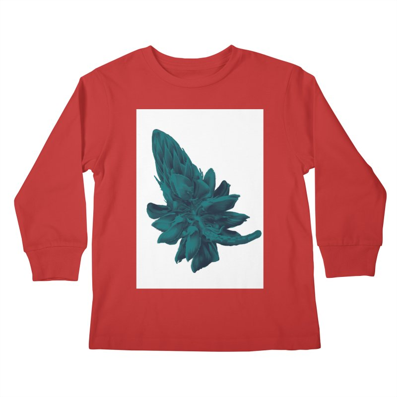 Schizo Pop Flower 2 Kids Longsleeve T-Shirt by schizo pop