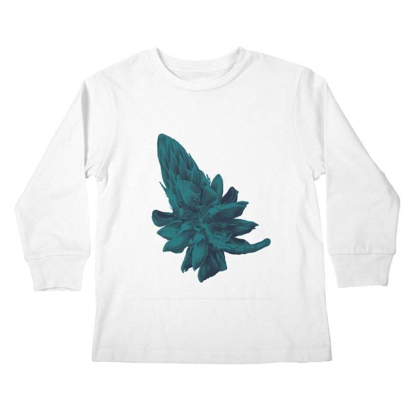 Schizo Pop Flower 2 Kids Longsleeve T-Shirt by schizo pop