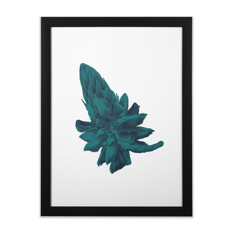 Schizo Pop Flower 2 Home Framed Fine Art Print by schizo pop