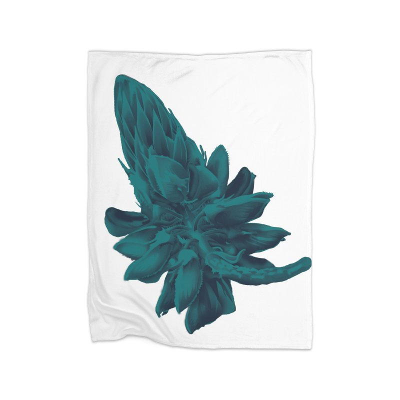 Schizo Pop Flower 2 Home Blanket by schizo pop