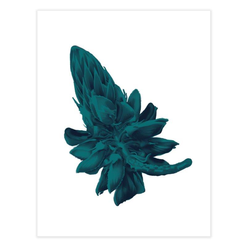 Schizo Pop Flower 2 Home Fine Art Print by schizo pop