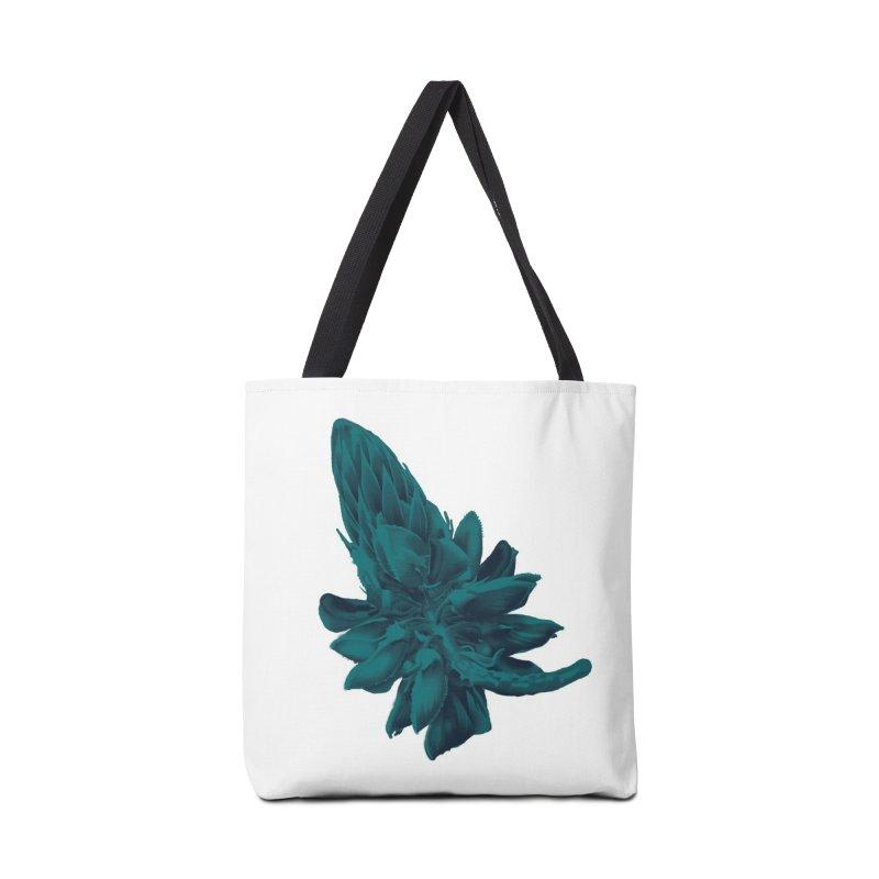Schizo Pop Flower 2 Accessories Bag by schizo pop