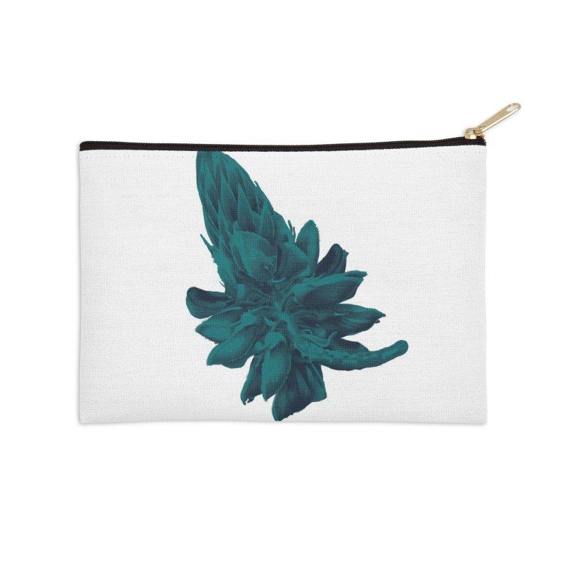 Schizo Pop Flower 2 Accessories Zip Pouch by schizo pop